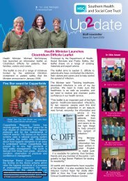 Issue 22 - April 2009 - Southern Health and Social Care Trust