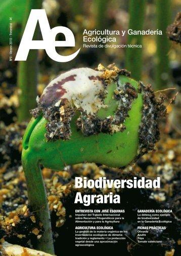 Biodiversidad Agraria - Sociedad Española de Agricultura Ecológica