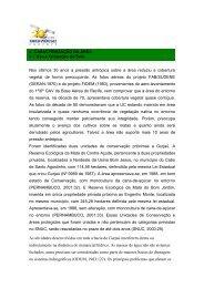 4. CARACTERIZAÇÃO DA ÁREA 4.1 Uso e Ocupação do Solo Nos ...