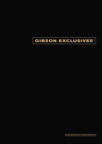 Gibson Exclusives - Luthman