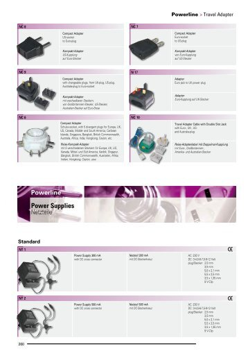 Power Supplies Netzteile - Wisat