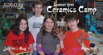 Ceramics Camp