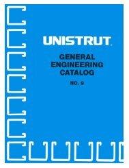 No. 9 Unistrut Catalog.indd