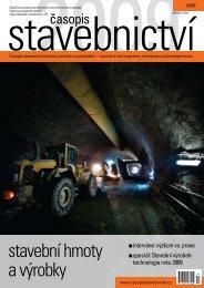 stavební hmoty a výrobky - Časopis stavebnictví