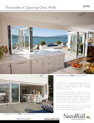 The Leader In Opening Glass Walls - Home Doors & Windows