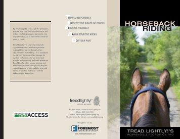 Horse Tread Lightly