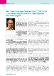 Interview Prof. Dr. med. Jalid Sehouli