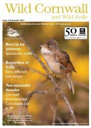 50th Anniversary - Cornwall Wildlife Trust