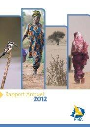 Rapport annuel 2012 - Fondation Internationale du Banc d'Arguin
