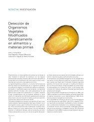 Detección de Organismos Vegetales Modificados Genéticamente en ...