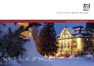 Automne / hiver 2009/2010 - Grand Hotel Les Trois Rois
