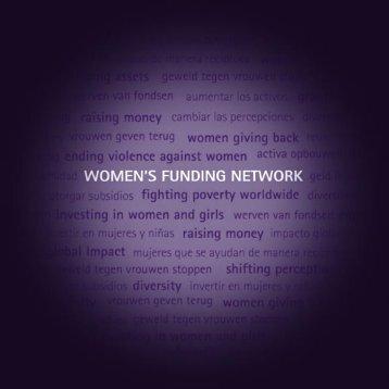 WFN Annual Report 2005 - Women's Funding Network