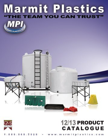 Download our product catalogue today! - Marmit Plastics Inc.
