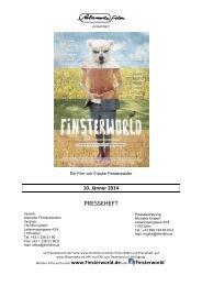 FINSTERWORLD - Presseheft - Thimfilm