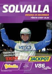 19 december - Solvalla