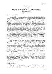 capítulo 4 vulnerabilidad sísmica de edificaciones esenciales - TDX