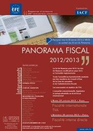 PANORAMA FISCAL - Efe