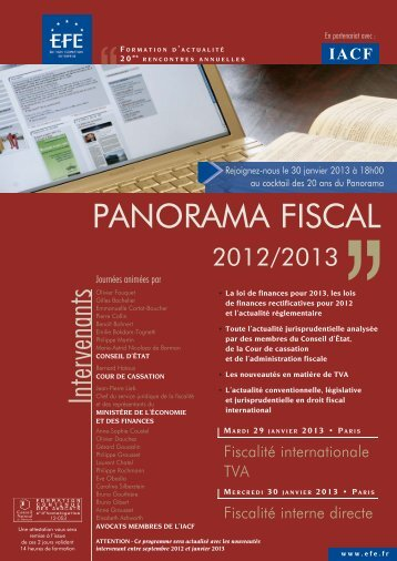 PANORAMA FISCAL - Efe