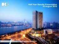 Download presentation PDF (3.64Mb) - InterContinental Hotels Group