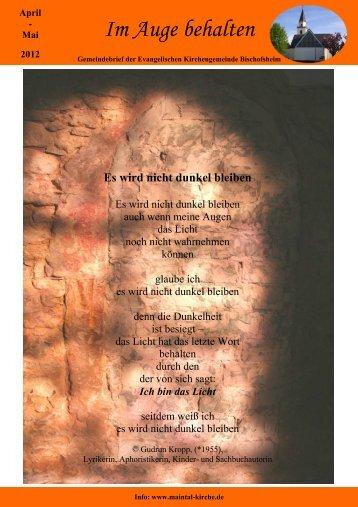 Choralkantate ? Herzliebster Jesu? JS Bach - Evangelischen ...