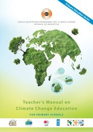 MANUAL PRIMARY.pdf - Africa Adaptation Programme