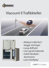Viacount ll Trafikkteller - Euroskilt AS