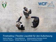 Finetrading | Flexible Liquidität für den Aufschwung