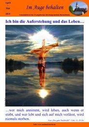 April - Mai 2010 - Evangelischen Kirchengemeinden Maintal