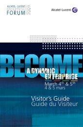 Alcatel-Lucent Visitors Guide 2009 Full version - Evenium