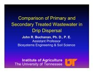 Comparison of Primary and Secondary Treated Wastewater in Drip ...
