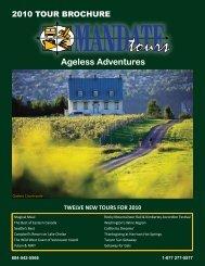 Ageless Adventures - Mandate Tours