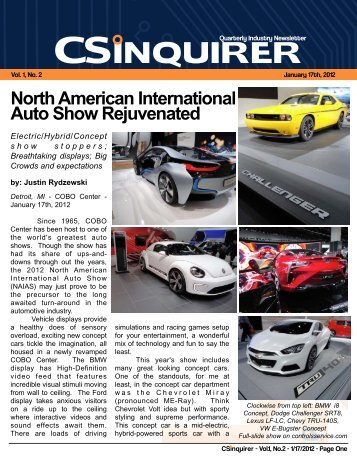 Newsletter Article 2 - Controls Service, Inc.