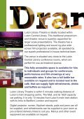 Luton Library Theatre conference hire.pdf - Luton Culture - Page 2