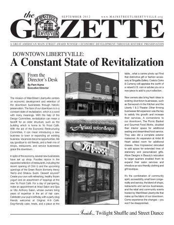Gazette - MainStreet Libertyville