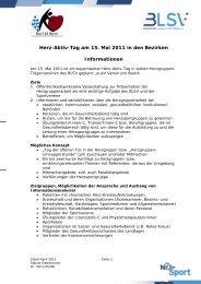 Herz-Aktiv-Tag am 15. Mai 2011 in den Bezirken Informationen - Bvs ...