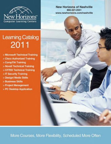 Pages 1-3 Cover and TOC.indd - New Horizons Computer Learning ...