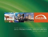 2012 Promotional Opportunities Guide - Nailba