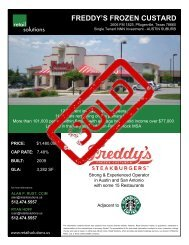 FREDDY'S FROZEN CUSTARD - Retail Solutions