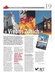 « Zurich : un vrai talent à faire valoir sa multi- plicité ... - Stadt Zürich