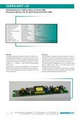 DUROLIGHT LEI w ith autom atic self-testing m ... - Sander elektronik - Page 4