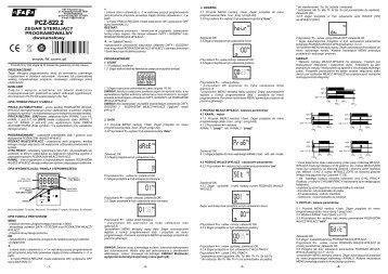 PCZ-522.2 instrukcja - F&F