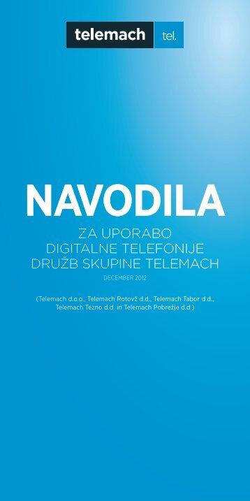 NAVODILA - Telemach