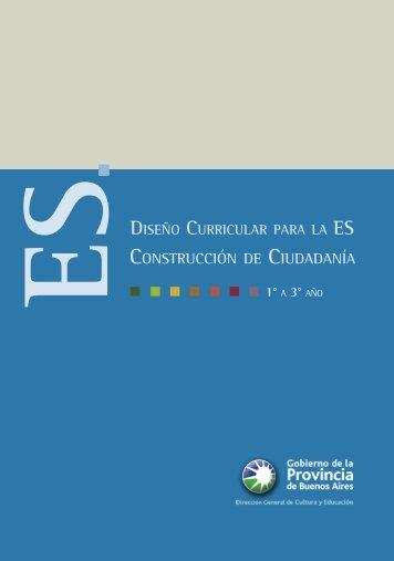 Diseño curricular para la construcción de ciudadanía (pdf 77