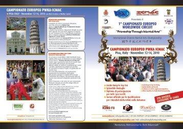 campionato europeo pwka-icmac 1° campionato europeo worldwide ...