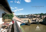 Lungarno Suites brochure - Lungarno Hotels Collection