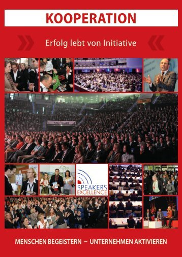 Kooperationspartner-Programm - Speakers Excellence