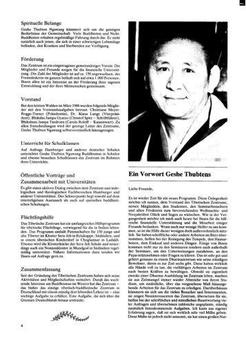 Heft 4 Zentrumsnachrichten