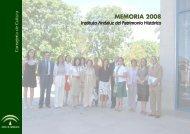 proyectos intervención - IAPH. Instituto Andaluz del Patrimonio ...