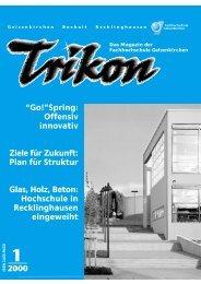 Ausgabe 1/2000 - TRIKON