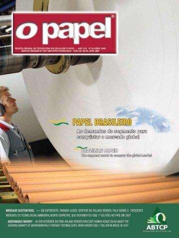 ABTCP Section - Revista O Papel
